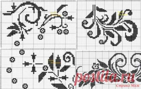 Составление схем для филейного вязания - Вязание - Страна Мам