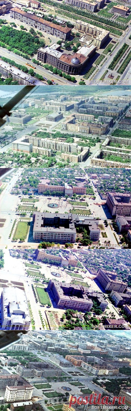 Донецк начала 1960-х / Назад в СССР / Back in USSR