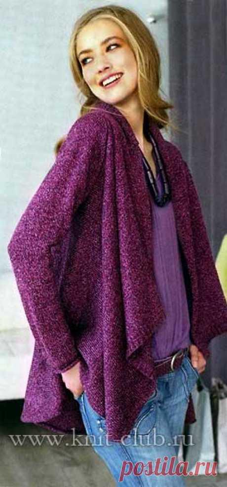 Вязание для полных женщин | Записи в рубрике Вязание для полных женщин | Вязание-для-женщин