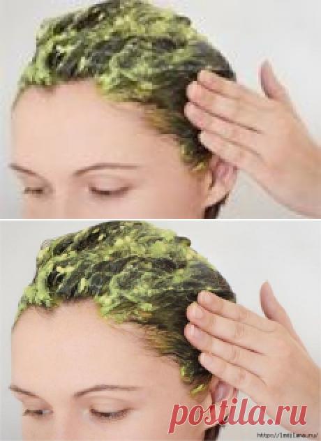 Маска, которая сделает ваши волосы густыми и крепкими!