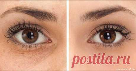 Вот 5 способов убрать синяки, отёки и мешки под глазами. И никакой химии! Ваши глаза засияют!