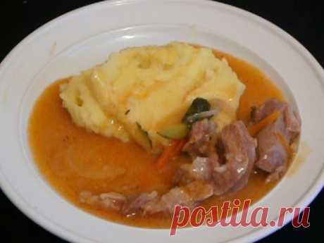 Recipe: Pork azu without potatoes on RussianFood.com