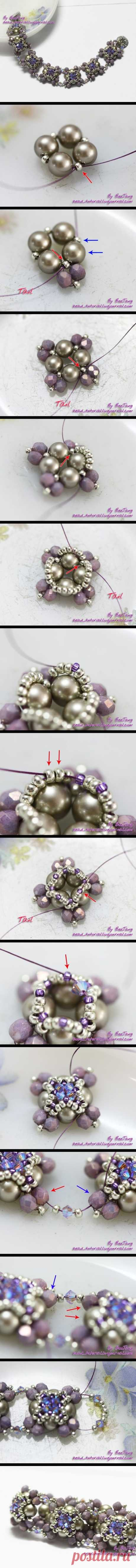 (24) PAP de bracelete   Bead patterns bracelets