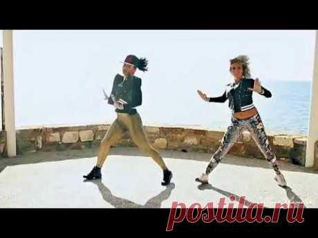 Опа гангнам стайл  remix & Букет из белых роз  Танцуют все! Красивые девушки здорово танцуют !