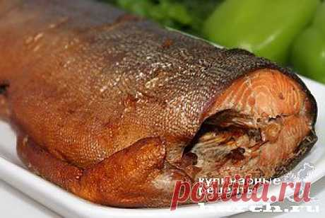 Рыба горячего копчения в рукаве для запекания | Харч.ру - рецепты для любителей вкусно поесть