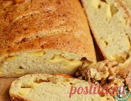 Овсяный хлеб с сыром и орехами – кулинарный рецепт