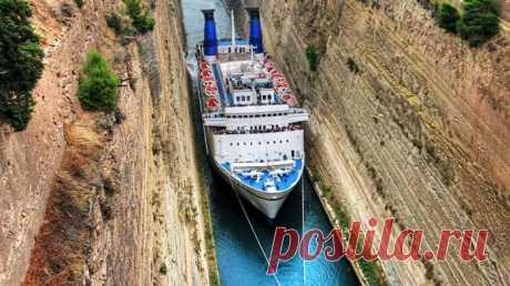 Ни проплыть, ни проехать: 5 уникальных судоходных каналов мира / Туристический спутник