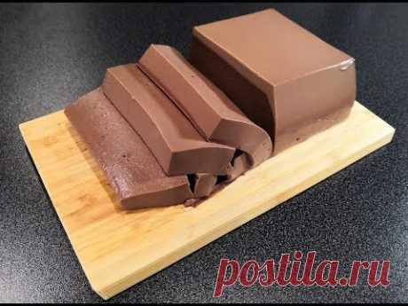 Шоколадный мусс — Кулинарная книга