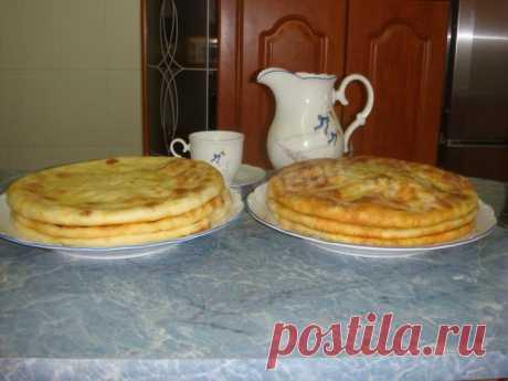 Осетинские пироги с зеленым луком рецепт с фото пошагово - 1000.menu