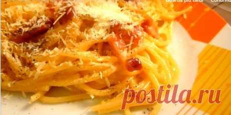 Простые Рецепты : Спагетти алла карбонара одно из самых известных и популярных блюд не только в Италии, но и во всем мире.