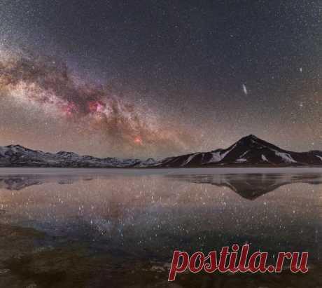 Озеро Лагуна-Бланка в Боливии. Автор фото – Ольга Лакеева: nat-geo.ru/photo/user/183171/