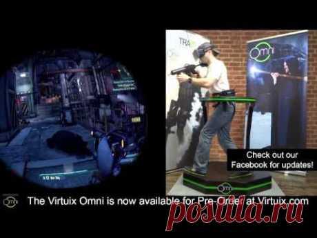 Беговая дорожка виртуальной реальности Virtuix Omni – игры и фитнес одновременно