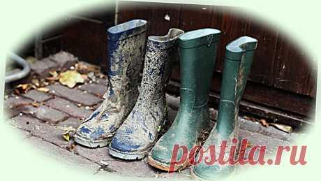 Огородную землю не тащим домой. 3 варианта приспособлений для очистки обуви | Дом, в котором хорошо | Яндекс Дзен Три способа не тащить грязь с огорода в дом + простые приспособления для очистки обуви.