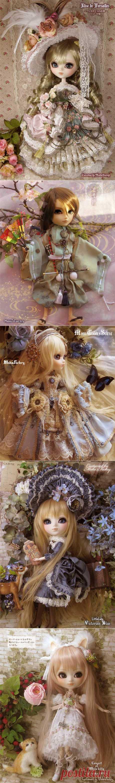 Las muñecas japonesas.