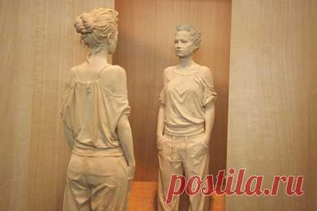 (+3) Деревянные скульптуры Петера Демеца