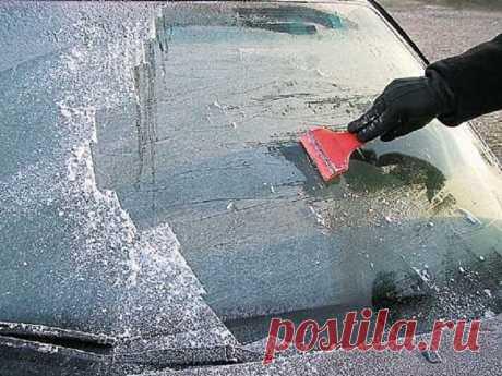 Распространенные ошибки при эксплуатации машины в зимнее время года