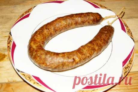 Домашняя колбаса на скорую руку - Сабрина