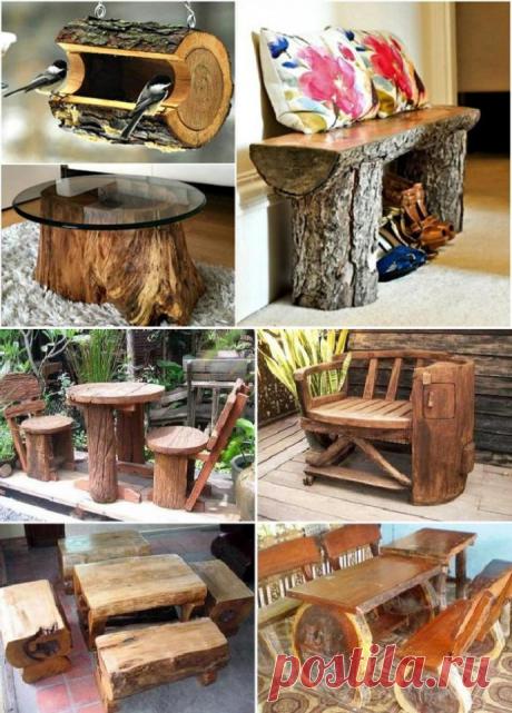 Дешевая дачная мебель своими руками