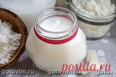 Как сделать кокосовое молоко.