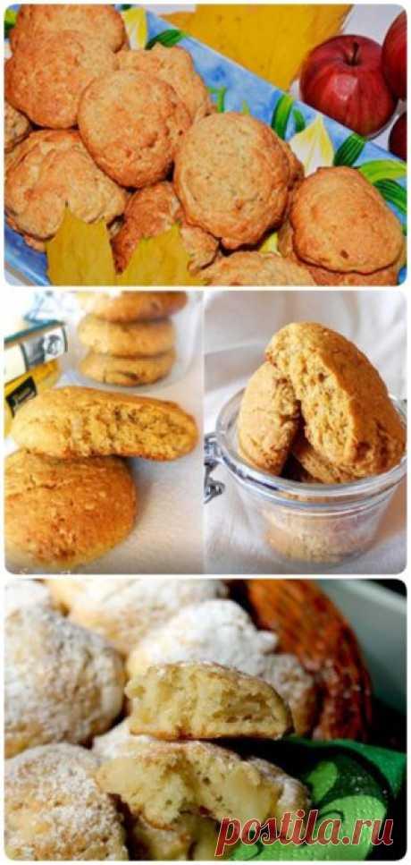 Печенье из яблок