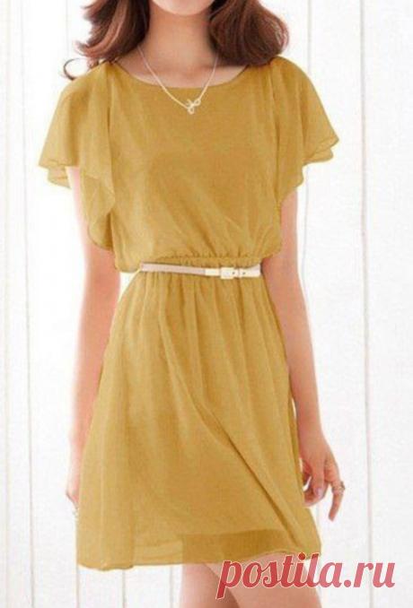 Простое моделирование нарядного платья — Сделай сам, идеи для творчества - DIY Ideas