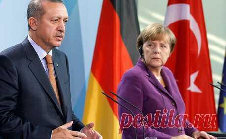 Время угроз: зачем Меркель приехала кЭрдогану 24января канцлер Германии Ангела Меркель прибыла вТурцию, гдевстретится спрезидентом этой страны Реджепом Тайипом Эрдоганом вСтамбуле.
