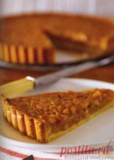 Рецепт: Пирог с арахисом