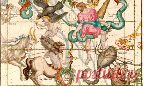 Мифология гороскопа: какая история стоит за каждым знаком зодиака   ELLEGIRL Узнай свой знак получше 🔮