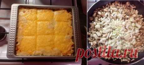 Балую себя очень часто — Жюльен с курицей и грибами Ингредиенты: Куриная грудка — 1 шт. Шампиньоны — 1 кг Лук — 1 шт. Сыр — 300 г Сливки 10% — 350 г Мука — 1 ст.л. Масло...