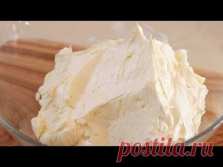 (Очень простой рецепт) как приготовить мягкий и вкусный сливочный крем / сливочное безе