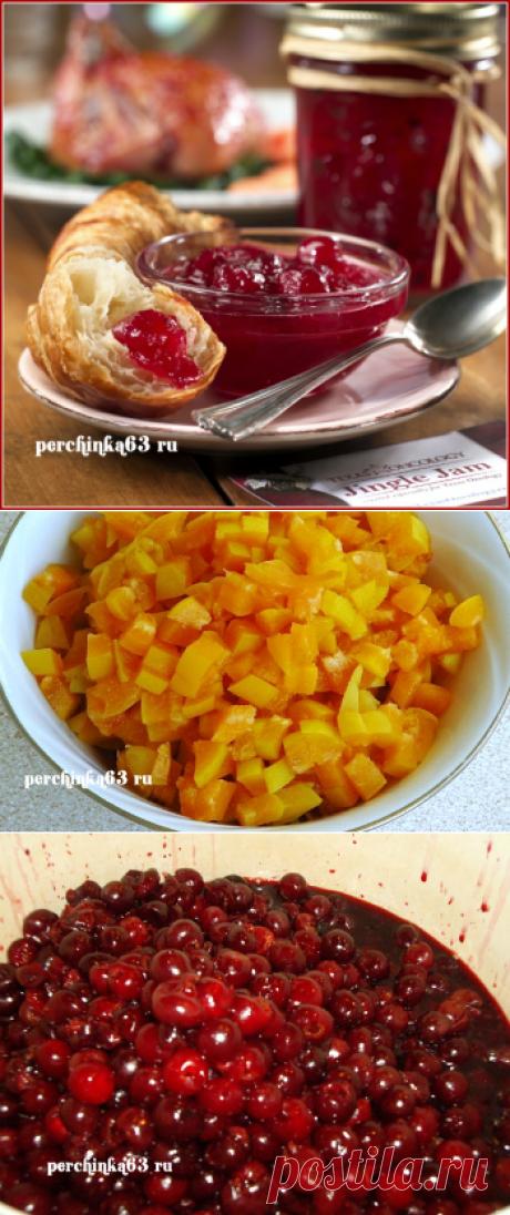 Джем из вишни и абрикос амазонка -