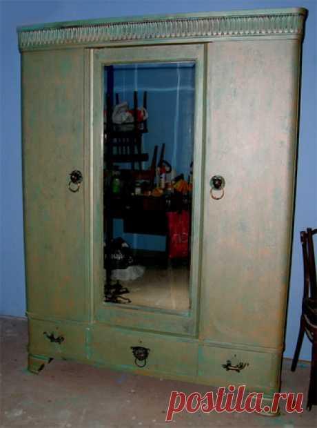 Переделка старого шкафа