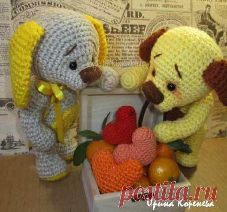 Вязаные игрушки и сувениры со схемами и описанием