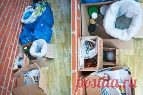 Личный опыт: Как сортировать мусор дома? — The Village