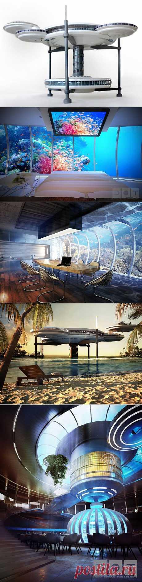 Подводный отель в Дубае. - Мир отделки и ремонта