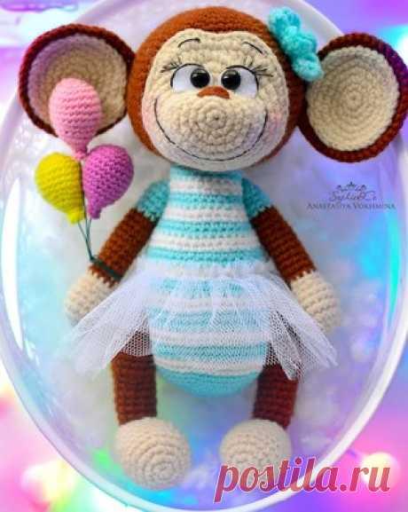 PDF Мартышка Съюзи. Бесплатный мастер-класс, схема и описание для вязания игрушки амигуруми крючком. Вяжем игрушки своими руками! FREE amigurumi pattern. #амигуруми #amigurumi #схема #описание #мк #pattern #вязание #crochet #knitting #toy #handmade #поделки #pdf #рукоделие #мартышка #обезьяна #обезьянка #шимпанзе #monkey #chimp