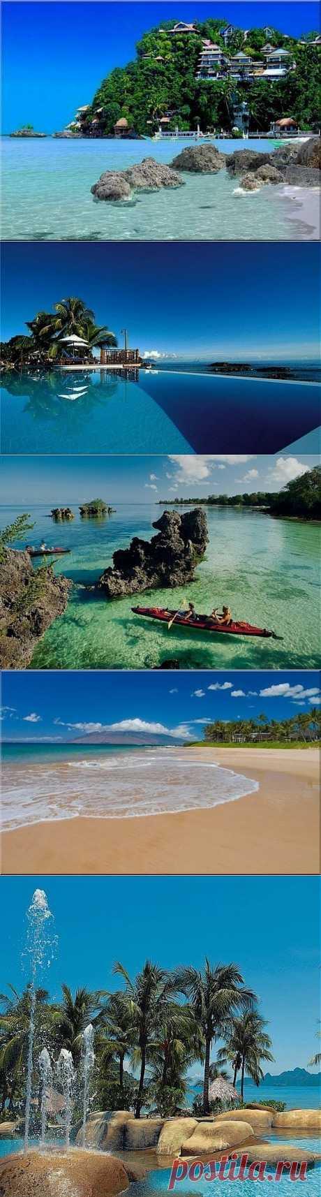 Самые красивые в мире острова.