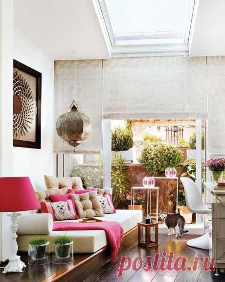 Два элегантных этажа полного счастья. Рациональное использование крыши в Мадриде - Дизайн интерьеров   Идеи вашего дома   Lodgers