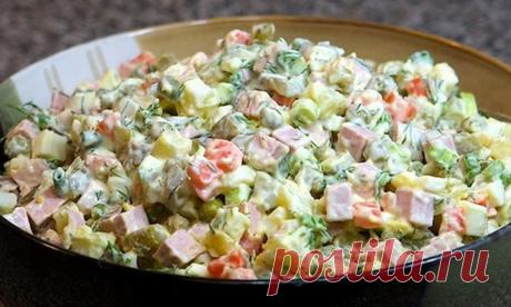 5 вкуснейших советских салатов