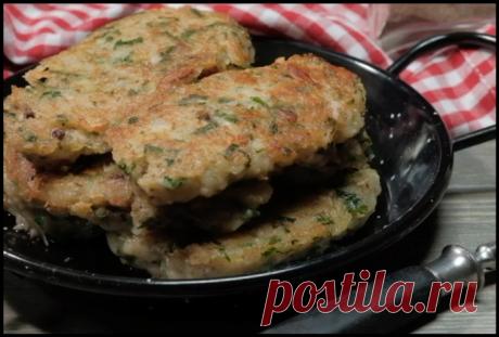 Вкуснейшее постное блюдо: котлеты из освянки, которые не отличить от мясных!