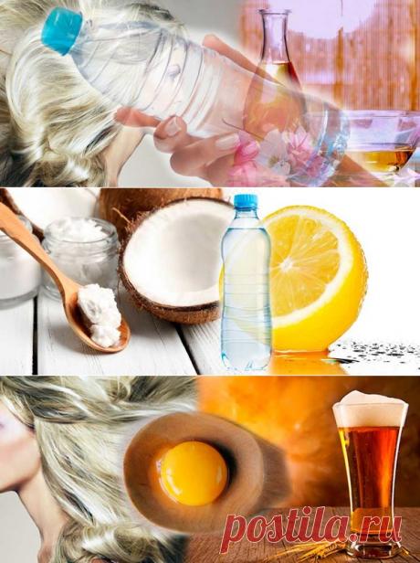 Три домашние маски для быстрого восстановления волос. Готовятся в бутылке | 1001 маска своими руками | Яндекс Дзен