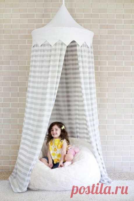 Стильный шатёр в детскую