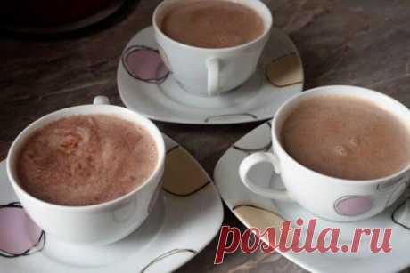 Правильное какао как в детском саду, рецепт с фото   Вкусные кулинарные рецепты