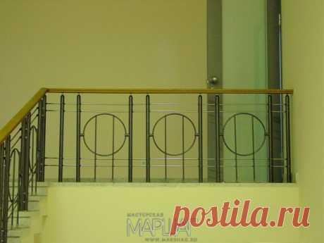 Лестницы, ограждения, перила из стекла, дерева, металла Маршаг – Нержавеющие балконные ограждения