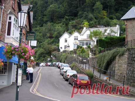 Деревня Линмут(Lynmouth),Великобритания