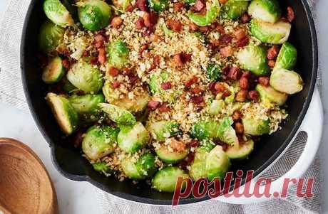 Жареная брюсельская капуста Жареная брюсельская капуста - пошаговый кулинарный рецепт приготовления с фото, шаг за шагом.