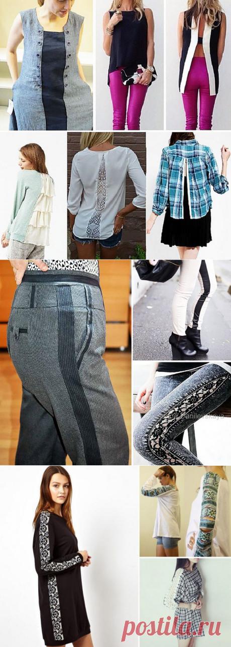Стильные варианты увеличения одежды