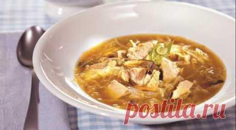 Суп, которому нет равных, Грибные щи с квашеной капустой