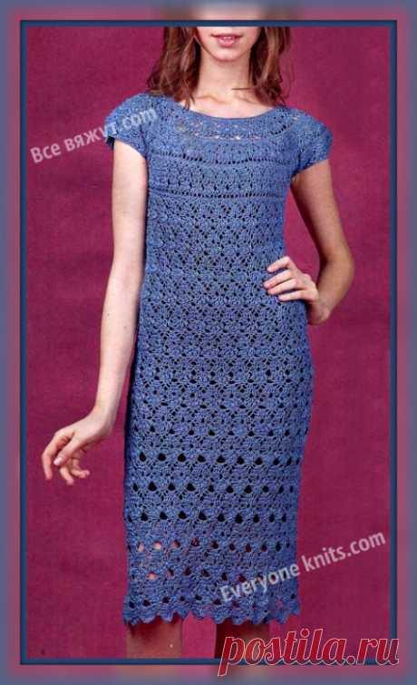 Летние платья крючком. | Все вяжут.соm/Everyone knits.com | Яндекс Дзен