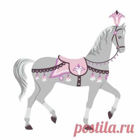 depositphotos_70291079-stock-illustration-circus-horse.jpg (600×600)